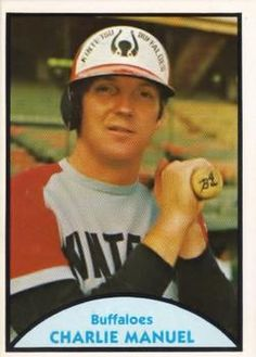 1979 TCMA Japanese Pro Baseball #44 Charlie Manuel Front
