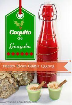 Diorizella Events and Crafts: Como Hacer Coquito de Guayaba #NavidadesenPuertoRico