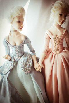 Ooak Dolls, Art Dolls, Noblesse, Handicraft, Romantic, Handmade, Dresses, Decor, Fashion