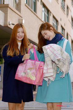 DIA Jenny and Chaeyeon