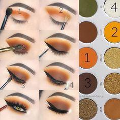 LHEI 10 Pcs Rose Gold Makeup Brush Set Professional Eye Makeup Brushes For Eyeshadow Concealer Eyeliner Brow Blending Brush Tool - Make-Up Makeup Eye Looks, Eye Makeup Steps, Beautiful Eye Makeup, Simple Eye Makeup, Fall Eyeshadow Looks, Fall Eye Makeup, Natural Makeup, Daytime Eye Makeup, Natural Beauty