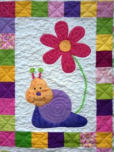 Cute Idea for baby quilt...next grandchild:0