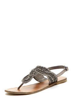 Adana Rhinestone Detail Sandal