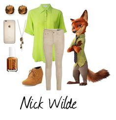"""""""Nick Wide inspired outfit!!"""" by wonder-land-555 ❤ liked on Polyvore featuring moda, CÉLINE, rag & bone, TOMS, Kevin Jewelers, Aéropostale, Essie, women's clothing, women y female"""