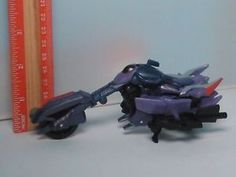 a transformers robots in disguise rid warrior class fracture figure motorcycle