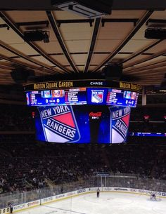 Madison Square Garden, Home of the NY Rangers.