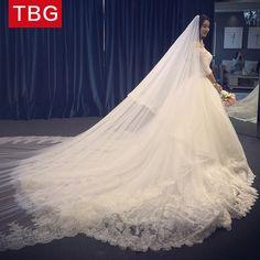 Wedding dress 2017 new word shoulder wedding dress long tail bride Korean big tail in the summer