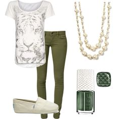 Everyday outfit by meganjulien on Polyvore