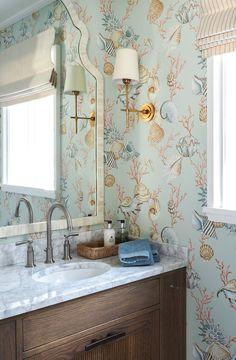 SØRLANDET — DIVINE DESIGN OSLO Beach Bungalows, Double Vanity, Oslo, Mirror, Bathroom, Furniture, Design, Home Decor, Bathing