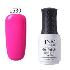 8ml UV Gel Nail Polish LED Lamp Gel Lacquer 58 Colors