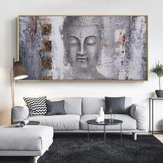 Buddha Artwork, Buddha Wall Art, Buddha Painting, Living Room Pictures, Wall Art Pictures, Wall Canvas, Canvas Art, Buddha Canvas, Cheap Paintings