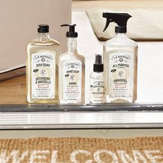 Welcome guests to your home with the fresh and tropical scents of Coconut Liquid Hand Soap, Dish Soap, Room Freshener and All Purpose Cleaner from JR Watkins.