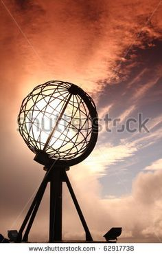 The Globe At Nordkapp, North Cape In Norway Stock Photo 62917738 : Shutterstock