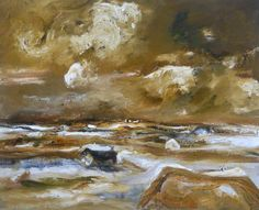 Your Paintings - Sheila Mary Fell paintings Art Uk, Your Paintings, Mary, Inspire, Clouds, Artists, Landscape, Water, Books