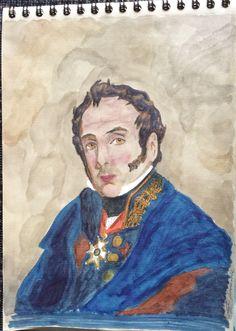 General Alava y Esquivel, Trafalgar, Guerra de la Independencia y Waterloo.
