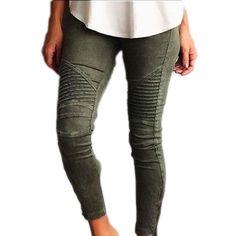Black/blue/green/white wash denim skinny pencil jeans scratched detail vintage sculpt butt lift jeans elastic jeans with zipper