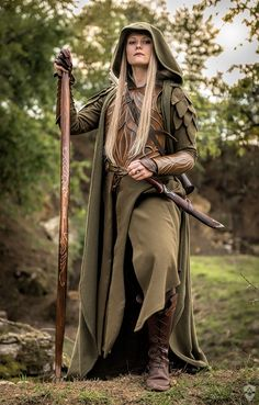 """... are absolutely amazing this autumn. I really love to be an elven """"forest wanderer"""" in this season. It was great to try out the new outfit for my elven LARP character Finarfel. Model: myself Pho..."""