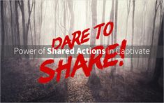 Last week we hosted Captivate consultant Lieve Weymeis in a webinar discussing Shared Actions. You can watch the recording now!