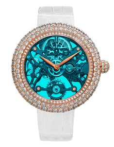 BRILLIANT SKELETON NORTHERN LIGHTS ROSE GOLD   Jacob & Co.   Timepieces   Fine Jewelry   Engagement Rings