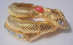 Resultado de imagem para bracelete de cobra