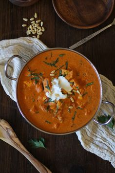 "If Crock Pot Chicken Tikka Masala had a theme song, it would be called, ""Bombshells of Gypsy Magic All Up in Your Mouth."" ...and it would include the lyrics, ""we've got a brand new recipe you're ma..."