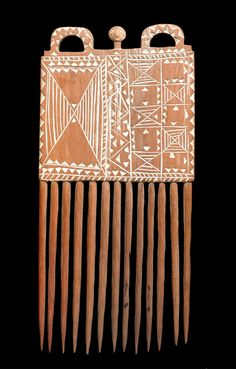 Africa | Comb from the Akan people of Ghana | Wood