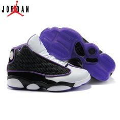 a467022a2dee 414575-101 Air Jordan 13 Retro Women White Black Varsity Purple A24026