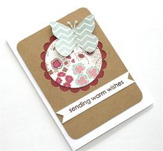 Handmade Card for her - Birthday Butterfly
