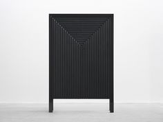 Korint is a minimalist design created by Sweden-based designer Snickeriet. The wooden cabinet Korint has been given a heavily decorative appearance, while both precise and symmetric. (2)