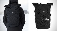 BRAASI WICKER BACKPACK  Made to survive military-grade abuse.