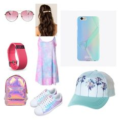 """""""Awesome"""" by tilly11wave on Polyvore featuring UPROSA, Minnie Rose, Fitbit, Billabong and Miss Selfridge"""