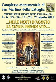 notti Agosto a San Martino della Battaglia http://www.panesalamina.com/2013/14605-notti-dagosto-a-san-martino-della-battaglia.html