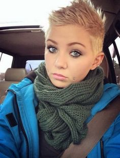 Layered Mohawk Pixie Crop Haircuts 2017 More