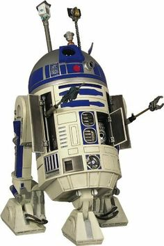 """Star Wars: R2-D2 1:6 Scale Statue by Diamond Comics Distributors. $189.99. Stands 7"""" high. Limited edition. A Gentle Giant sculpt. Includes hand-numbered base and Certificate of Authenticity. Includes 8 accessories in total. From the Manufacturer                A Gentle Giant Sculpt.  A bold droid in personality and termperament, with a nose for adventure, R2-D2 was an astromech droid, undoubtedly the most famous and more important built in the R2 series.  With his companion p..."""