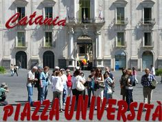 The University of Catania (Italian: Università degli Studi di Catania) is founded in It is the oldest university in Sicily, the oldest in Italy and the oldest university in the world. Italian Proverbs, Baroque Art, Aragon, Catania, 15th Century, World Heritage Sites, Places To Travel, Presentation, Old Things