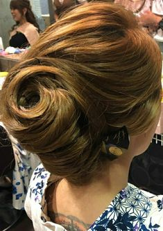 Updos, Japan, Up Dos, Party Hairstyles, Japanese, Hairstyle, Hair Updo, Hair Buns