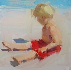 David Shevlino Fine Art 8x8 inches, oil