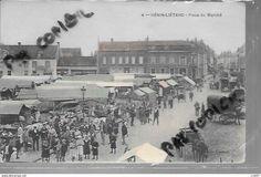 62 HENIN LIETARD PLACE DU MARCHE - Henin-Beaumont