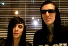 Chris Motionless and Ricky Horror