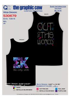 Cute design for a galaxy/out of this world themed bid day!