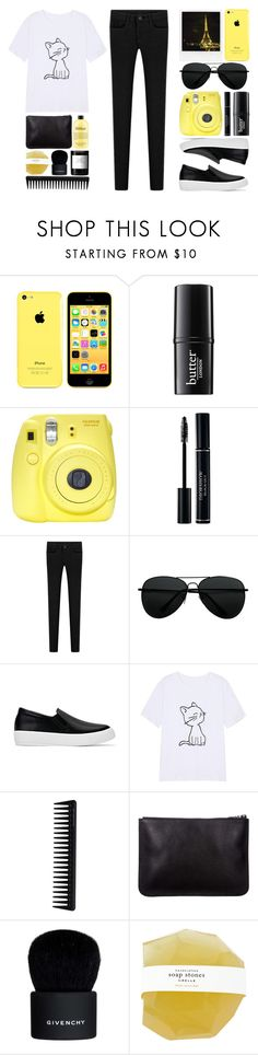 """""""//I just want to be okay//"""" by the-key-to-my-heart ❤ liked on Polyvore featuring Polaroid, philosophy, Butter London, Fuji, GHD, Givenchy and Byredo"""