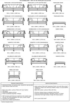Sofa Dimensions In Feet Google Search