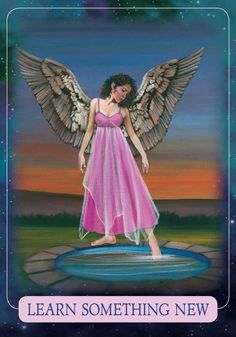 Oracle Card Learn Something New | Doreen Virtue - Official Angel Therapy Website