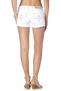CELINE H78 DENIM SHORTS - Rock Revival