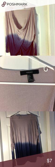 Blouse Forever21 multi shade blouse Forever 21 Tops Blouses