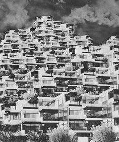 ERICH SCHNEIDER-WESSLING    WOHNBERG PROJECT, 1960s