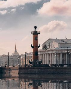 Растральные колонны. Биржа. Стрелка Васильевского острова.