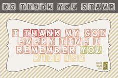 KG Thank You Stamp Font | dafont.com