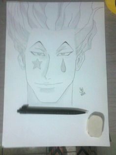 Draw #20 / Hisoka / HunterxHunter