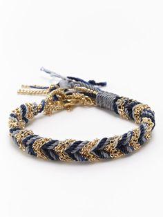 Helene Jewelry Braided Multi Color Friendship Bracelet